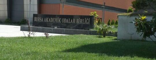 Bursa Akademik Odalar Birliği is one of Orte, die Ömer gefallen.