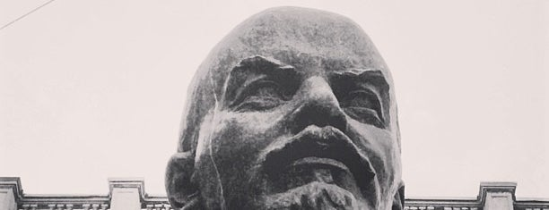 Бюст В.И. Ленина / V.I. Lenin bust is one of Mika 님이 좋아한 장소.