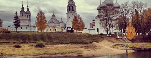 Вологодский кремль is one of สถานที่ที่ Леонид ถูกใจ.