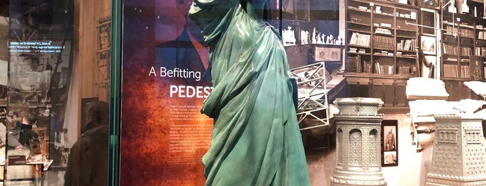 Statue of Liberty Museum is one of USA NYC Cultural.