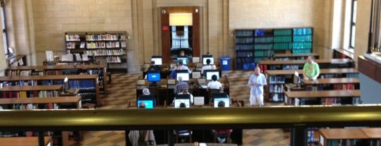 St. Paul Central Library is one of Steve'nin Beğendiği Mekanlar.