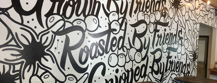 Rise Up Coffee Roasters is one of Orte, die Hayley gefallen.