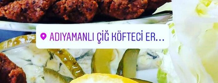 Adıyamanlı Çiğ Köfteci Erkan Usta Senirkent is one of Sercan: сохраненные места.