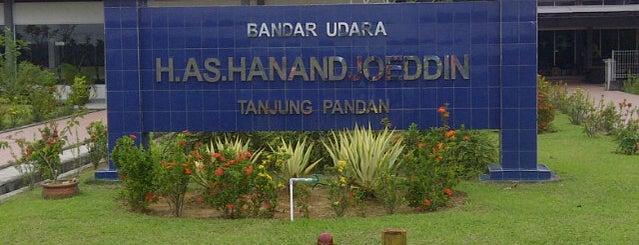 Bandar Udara H.A.S. Hanandjoeddin (TJQ) is one of Part 1~International Airports....