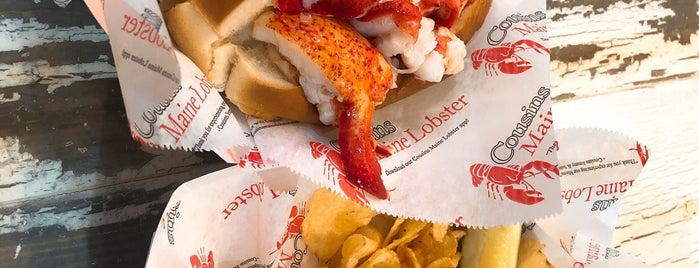 Cousins Maine Lobster is one of L.A..