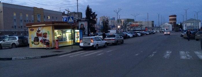 Вокзальная площадь is one of Белгород (Belgorod).