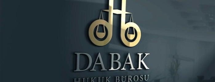 Dabak Hukuk Bürosu is one of Tempat yang Disukai Erdem.