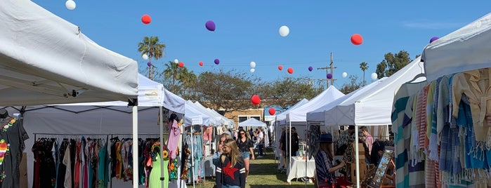 Abbot Kinney Flea Market is one of Los Angeles.