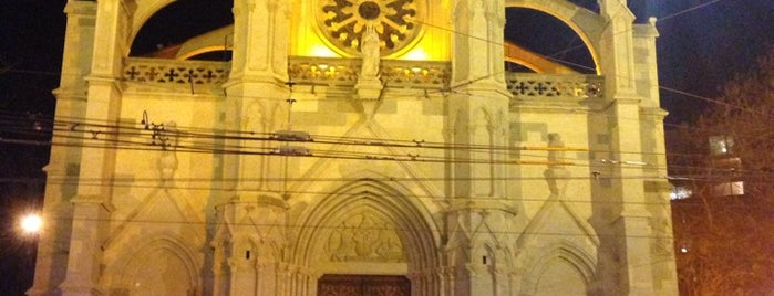 Basilique Notre-Dame de Genève is one of Suiça - onde ir.