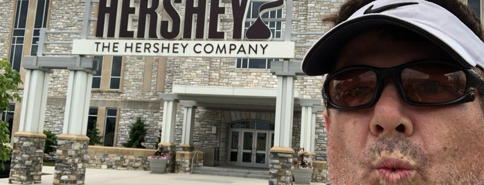 The Hershey Company is one of Orte, die Teresa gefallen.