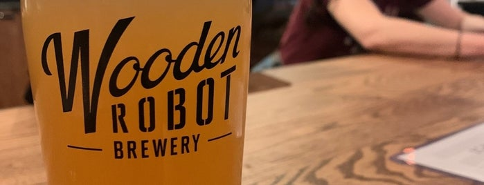 The Chamber By Wooden Robot is one of NC Craft Breweries.