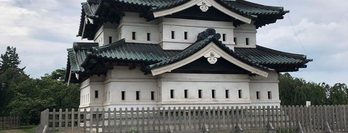 弘前城天守 is one of Tempat yang Disukai 西院.