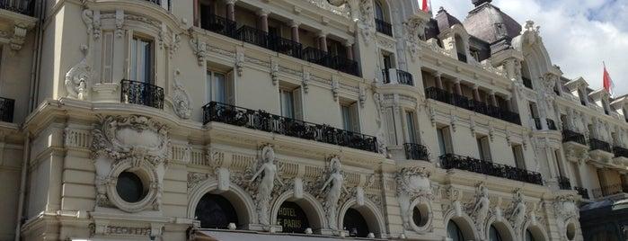 Hôtel de Paris is one of Condé Nast Traveler Platinum Circle 2013.
