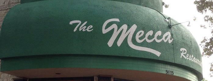 The Mecca is one of Favorite Dallas Restaurants.