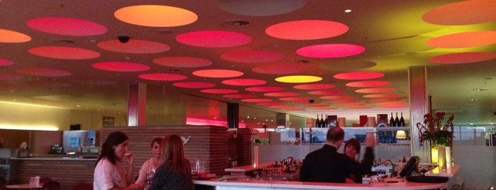 Harvey Nichols Champagne Lounge is one of Edinburgh July 2014.