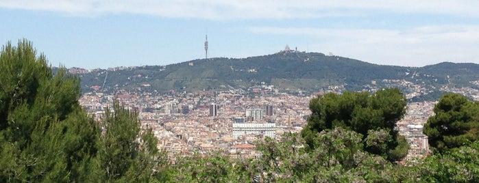 Muntanya de Montjuïc is one of Barcelona TO SEE.