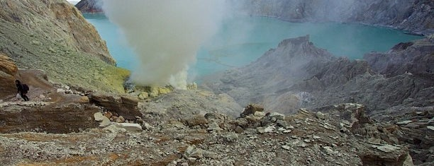 Kawah Ijen is one of Indonesia.