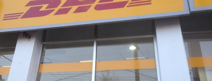 DHL Express is one of Tempat yang Disukai Marteeno.