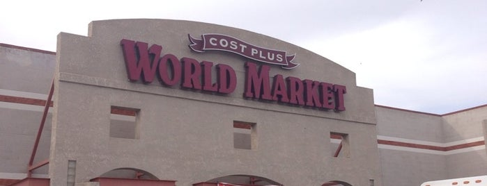 Cost Plus World Market is one of Tucson.