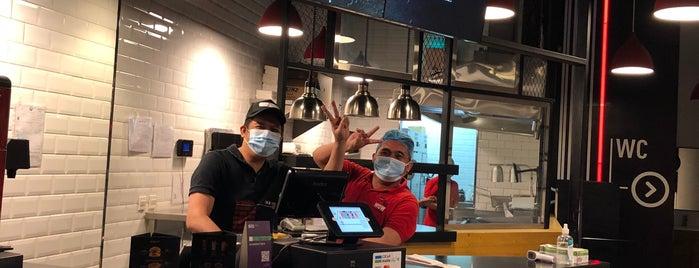Wow Burger is one of Riyadh - BURGERS!!.