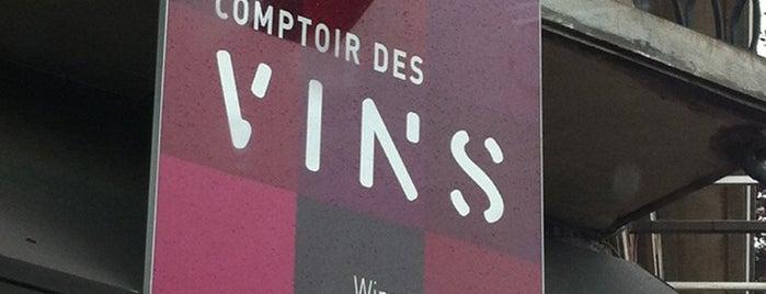 Comptoir des vins is one of Orte, die Tanguy gefallen.