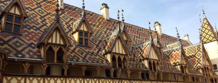 Hôtel-Dieu Hospices De Beaune is one of Orte, die Laetitia gefallen.