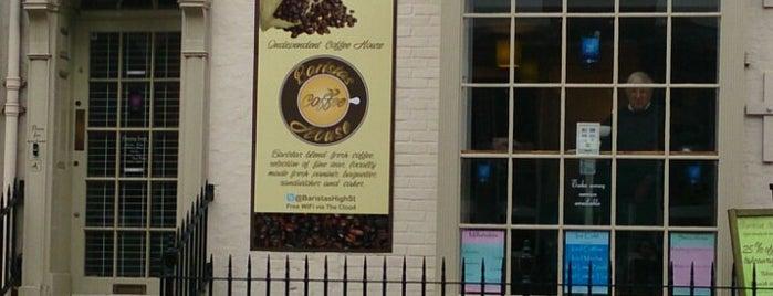Baristas Coffee House is one of Lugares favoritos de Tobias.