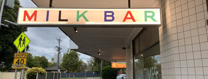Good Times Milk Bar is one of Australia.