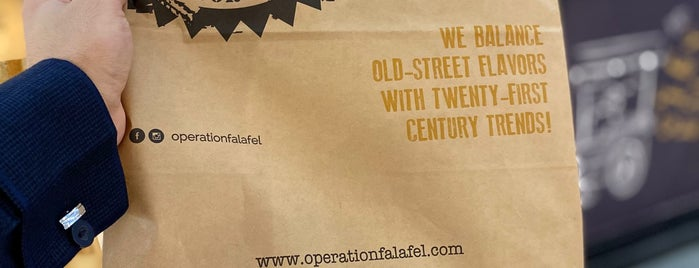 Operation: Falafel is one of Orte, die Nouf gefallen.