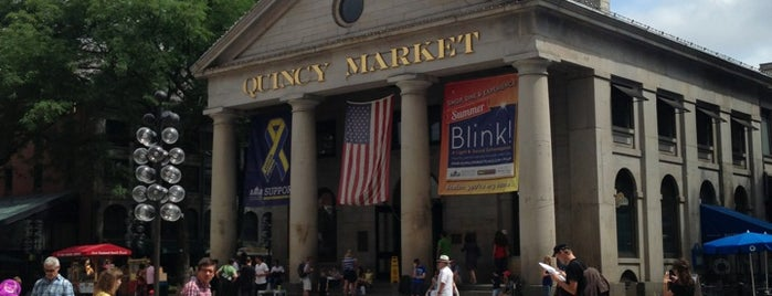 Quincy Market is one of #BeRevered: Best of the North End.