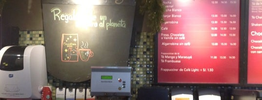 Starbucks is one of Perú.