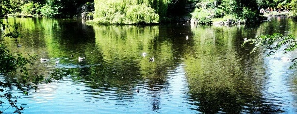 St Stephen's Green is one of Dublin. Ireland.