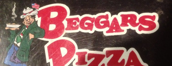 Beggars Pizza is one of Food Madness.