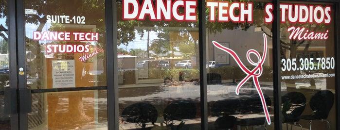 Dance Tech Studios Miami is one of Tempat yang Disukai Patty.