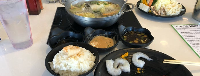 Yoshi Yoshi Shabu Shabu is one of Restaurants To Try - Dallas.
