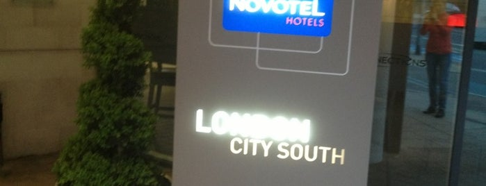Novotel London City South is one of London.
