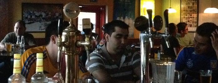 Hooligans Irish Pub is one of Tempat yang Disukai Guillermo.