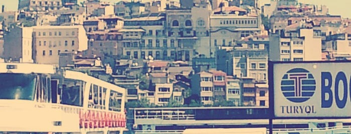 Eminönü Sahili is one of Orte, die Gorkem gefallen.