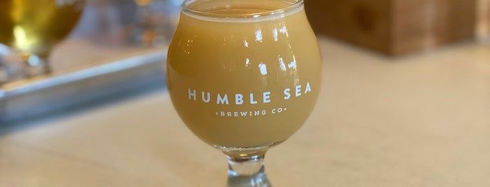 Humble Sea Brewing Co. is one of Santa Cruz.