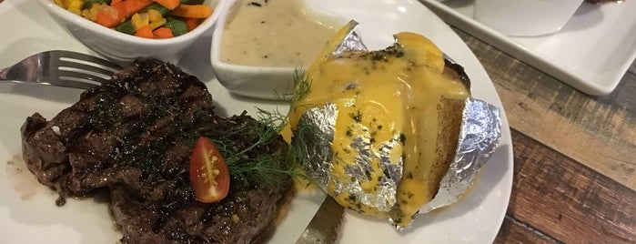 Double U Steak is one of Kuliner Bekasi.