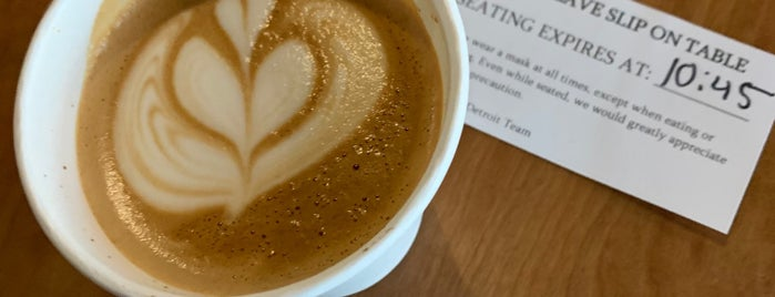 Madcap Coffee is one of Detroit.