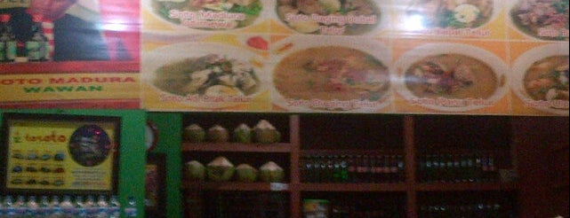 Soto Madura Wawan is one of SBY Culinary Spot!.
