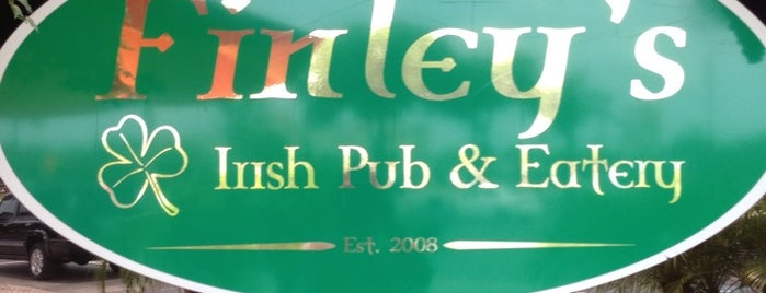 Finley's Irish Pub & Eatery is one of Posti che sono piaciuti a Damon.