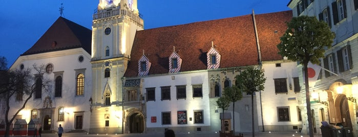 Stará Radnica | Old Town Hall is one of Slovakia: Dining, Coffee, Nightlife & Outings.