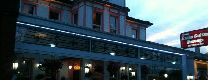 Tarihi Eyüp Sultan Konağı is one of Restoranlar.