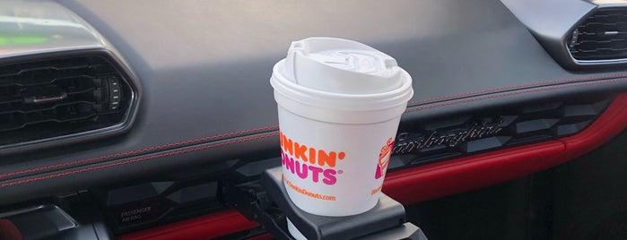 Dunkin' Donuts is one of reem : понравившиеся места.