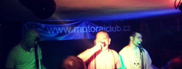 Motoráj club is one of Music Clubs in Prague.