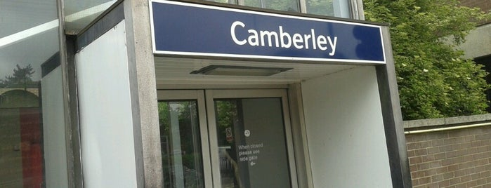 Camberley Railway Station (CAM) is one of UK.