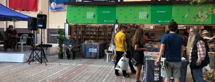 Moda Yaz Festivali / Kitap Şenliği is one of Стамбул ну наконец-то!.