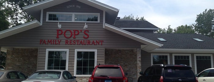 Pop's Family Restaurant is one of Locais salvos de Lizzie.